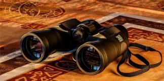 binoculars on the matt